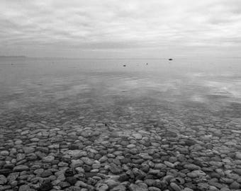 Fine art limited edition Black and white film photography - Diving