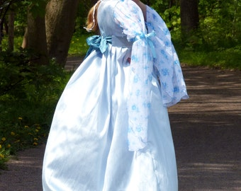 Renaissance dress - Italian dress - Italian renaissance gown - Juliette dress - Pre-Raphaelites dress