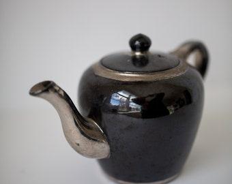Vintage Sudlows Inc Teapot, Made in England Tea Pot, Chrome Finish