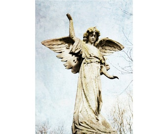 Angel Photography - Stone Angel Print - 8x12
