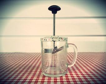 Vintage Hazel Atlas Androck Choppong Jar