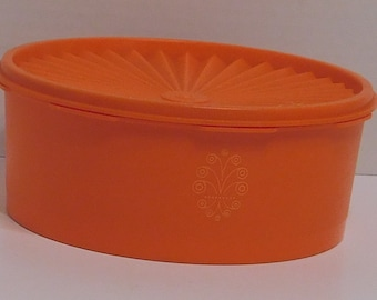 Cartouche Orange Tupperware
