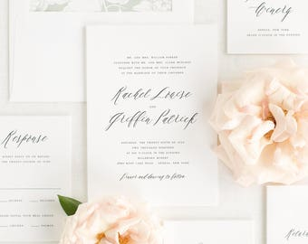 Rachel Wedding Invitation - Deposit