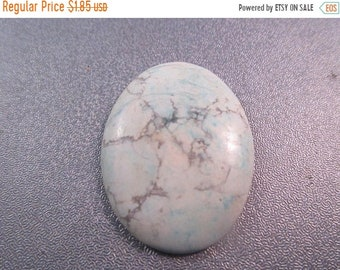 ON SALE 20% OFF Magnesite Turquoise Cabochon 1pc