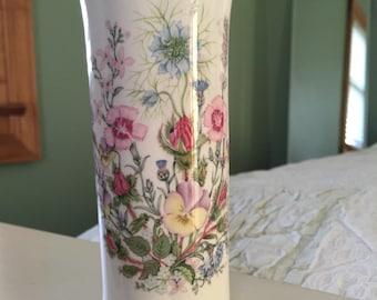 Aynsley Vase in Wild Tudor