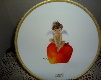 Angels and Apples Collector's Plate