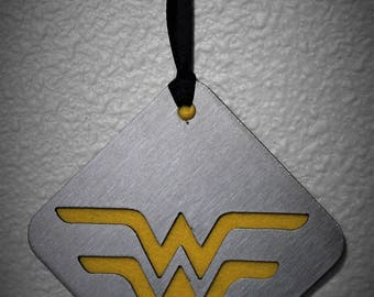 Wonder Woman Ornament, Diana, DC Comics, 75th Anniversary