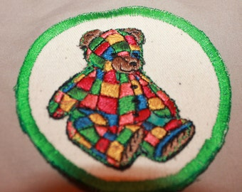 Patchwork Bear Patch