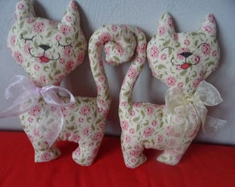 couple of cats fabric TILDA Valentine