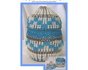 Easter Egg Candy Dish Safety Pin and Beading Pattern / Tutorial PDF Step-by-Step Detailed Instructions