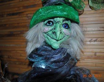 Kitchen Witch La Befana Baba yaga Amulet home