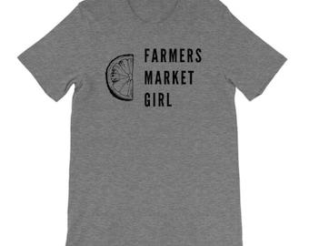 Farmers Market Shirt, Support Your Local Farmer, Farmer Shirt, Womens Graphic Tee, Foodie Shirt, Support Local, Garden Shirt, Unisex Tee