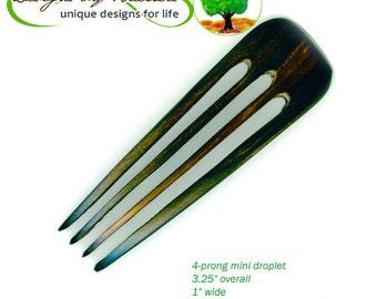 Baerreis Hair Fork - Four Prong Mini Choose wood Fine hair Small Bun