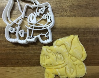 Bulbasaur - Pokemon 3D Printed Cookie Cutter