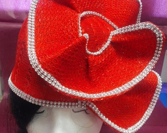 The Red Spiral Hat