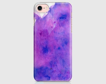 Blue Pink Watercolour, Neon Print, Neon Design, Protective Phone Case Cover, Samsung Galaxy, iPhone 7 iPhone 6 iPhone 5 \ hc-pp027