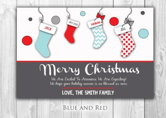 christmas pregnancy announcement card juve cenitdelacabrera co