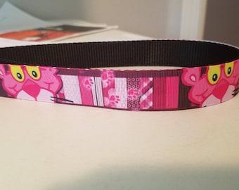 "1"" Pink Panthers Collar"