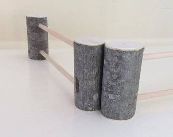A Pair of Play Fences for Pretend Play Animal and Doll Play Waldorf Toys