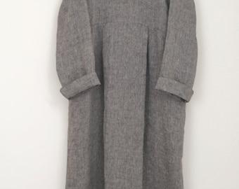LINNET Pattern / No99 Standing Shawl Collar Dress