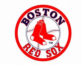 red sox clipart etsy rh etsy com