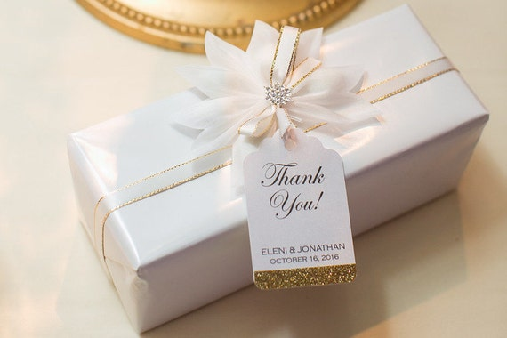 wedding favor tags personalized thank you tags wedding