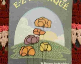 E-Z Applique Embroidery Patterns