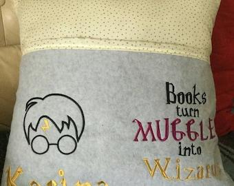 Harry Potter Inspired Reading Pillow