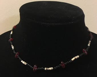 Small Vintage Beaded Necklace