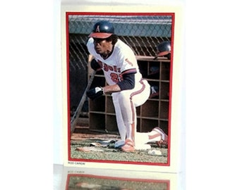 1984 Topps Exclusive Mail-in Redemption Glossy All-Star Limited Edition #26 Rod Carew