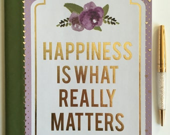 Purple Happiness Journal