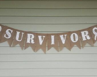 Cancer survivor banner