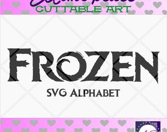 70% 0FF SALE Frozen svg files , frozen svg alphabet, elsa svg, anna svg, disney svg font, disney princess svg,