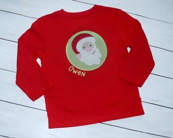 Kids Christmas Shirt - Kids Santa Shirt - Girls Christmas Shirt - Boys Christmas Shirt - Kids Holiday Shirt - Christmas Santa Shirt
