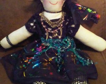 Handmade gypsy doll