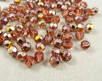 Rose Gold Beads Etsy Studio