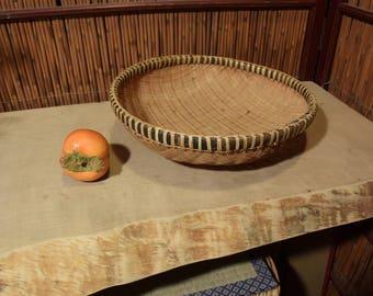 Medium Asian Bamboo Basket