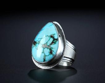 Royston Turquoise Ring, size 11.25
