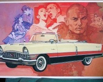 1955 Packard Caribbean 1st V8 275 hp Twin Ultramatic Yul Brynner Musicals