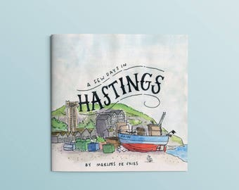 Zine - A few days in Hastings (a travel journal)