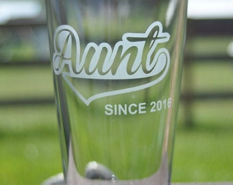 Personalized Glass your choice for The Sports Fan, Family Member, Aunt, Uncle, Dad, Grandpa, Pops, Customized for Any Occasion by Jackglass