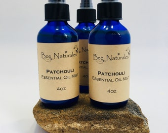 Patchouli Essential Oil Mist 4 oz