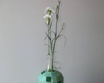 Mosaic Flower Bottle