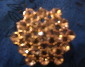 Antique GOLD STAR PIN