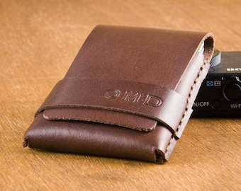 Personalized Mens Wallet - Leather Wallet - Minimalist Wallet - Slim Wallet for Him - Mens Leather Wallet - Gift for Him -  FREE SHIPPING