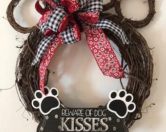 Beware of dog kisses
