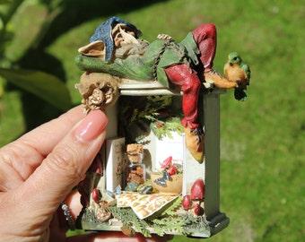 Dollhouse miniature elf's cabinet n.2 OOAK