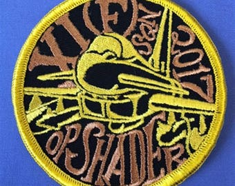 RAF 11 Squadron OP Shader 2017 Military Embroidered Patch