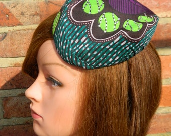 African Hostess Fascinator