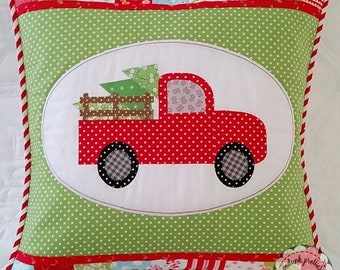 Christmas Memories Pillow Cover //Mailed Copy